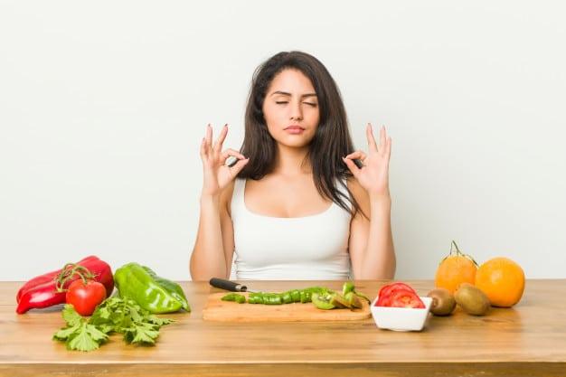 กินอาหารแบบมีสติ
