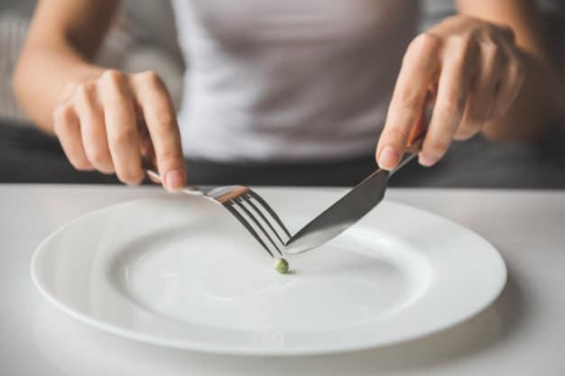 กินอาหารน้อยเกินไป