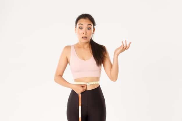 ผู้หญิงวัดรูปร่าง