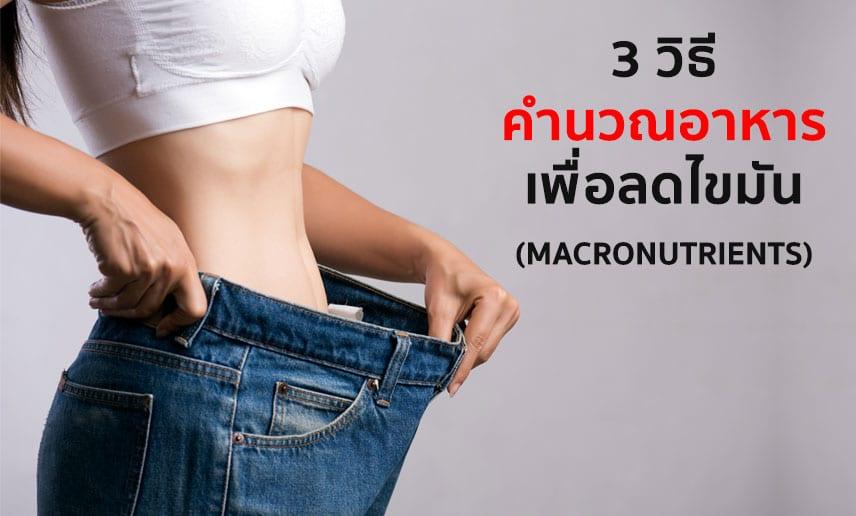3-วิธี-คำนวณอาหาร-เพื่อลดไขมัน